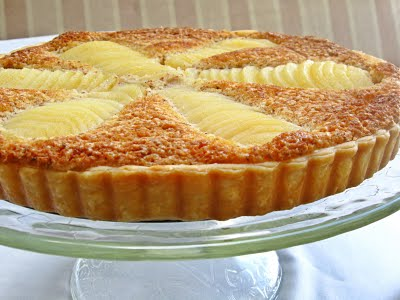 recette tarte frangipane aux poires chiourim. Black Bedroom Furniture Sets. Home Design Ideas