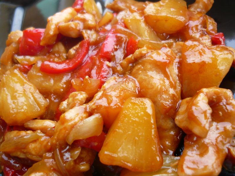 Recette poulet chinois l ananas chiourim - Blog recette de cuisine simple ...